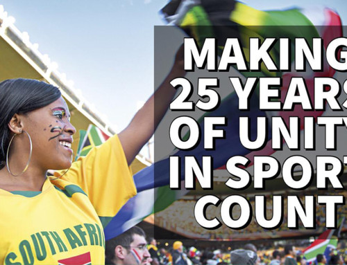 Making 25 years of Unity in Sport Count